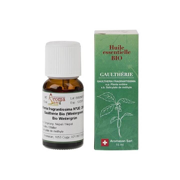 AROMASAN Huile essentielle (Vert d'hiver, 15 ml)