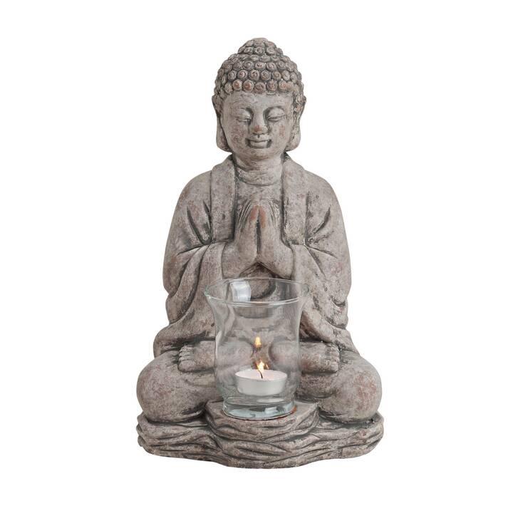 G. WURM Buddha Candeliere (Grigio, 300 mm)
