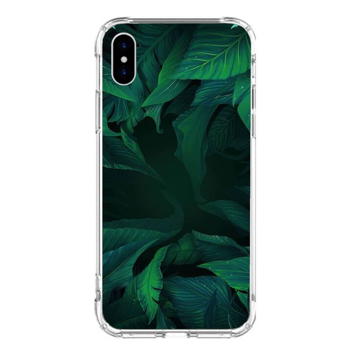 """EG MTT Backcover für iPhone X 5.8"""" 2018 - Blätter"""