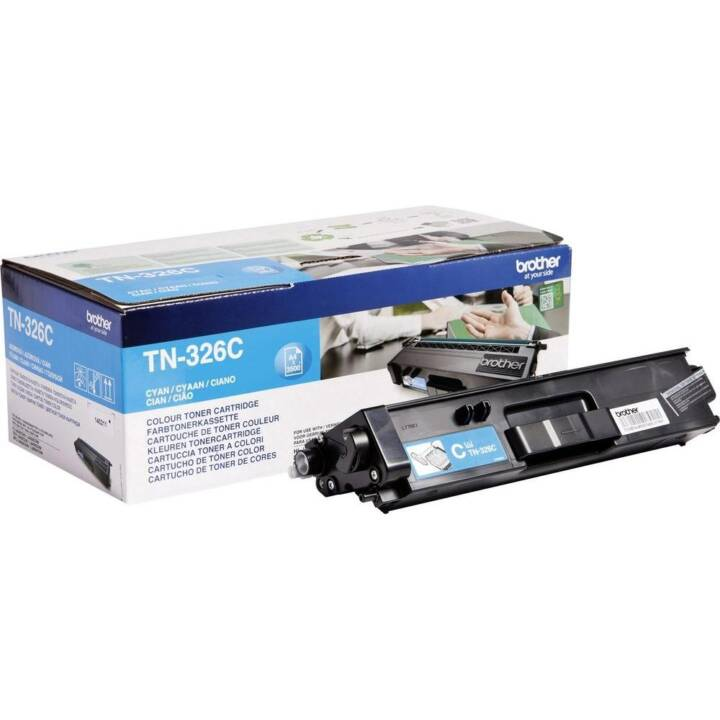 BROTHER TN-326C (Toner seperato, Ciano)