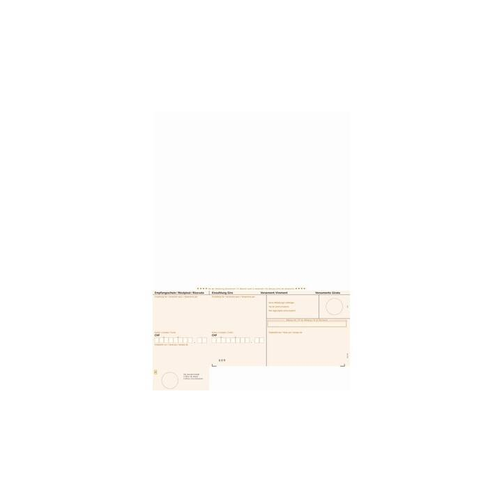 Bulletin de versement SIMFACT ESR orange, A4, 90 g, 500 feuilles