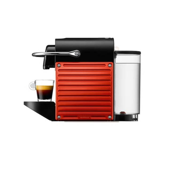 KRUPS Pixie Electric Red (Nespresso, Rouge, Noir)