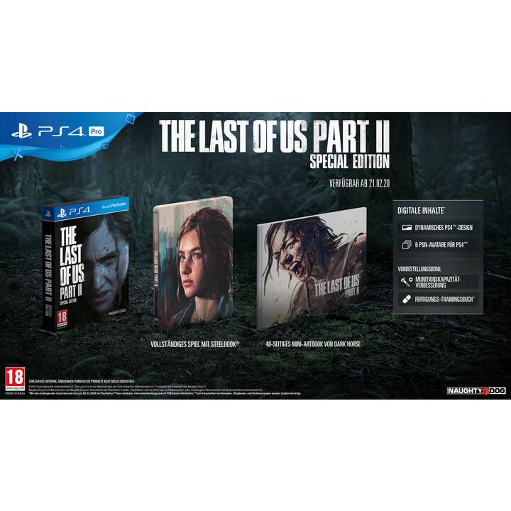 The Last of Us Part II Special Edition (IT, DE, FR)