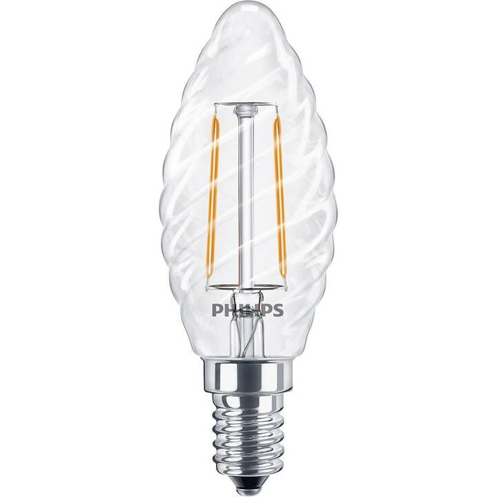 PHILIPS Classic Lampes (LED, E14, 2 W)