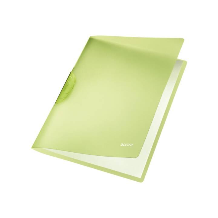 LEITZ Klemmhefter Color Clip Rainbow A4 grün