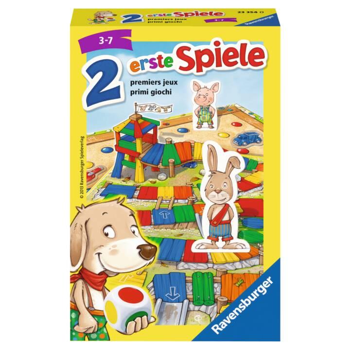 RAVENSBURGER 2 erste Spiele (FR, DE, IT)