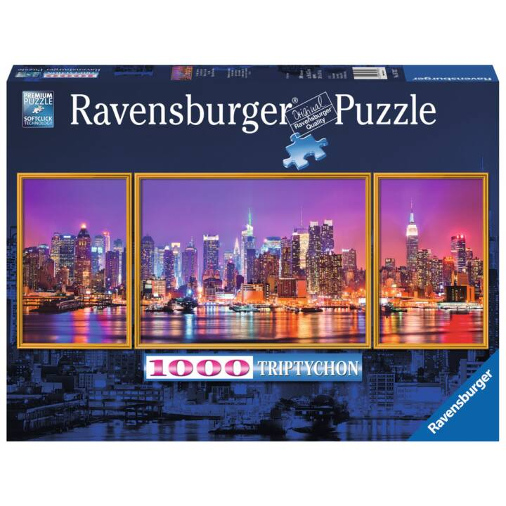 RAVENSBURGER New York Triptychon Puzzle, 1000 Stk.