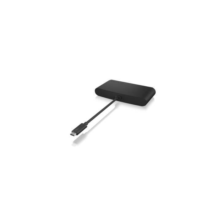 ICY BOX Stations d'accueil (2 x HDMI, USB 2.0, RJ-45 (LAN), Thunderbolt 3, USB 3.0 de type A)