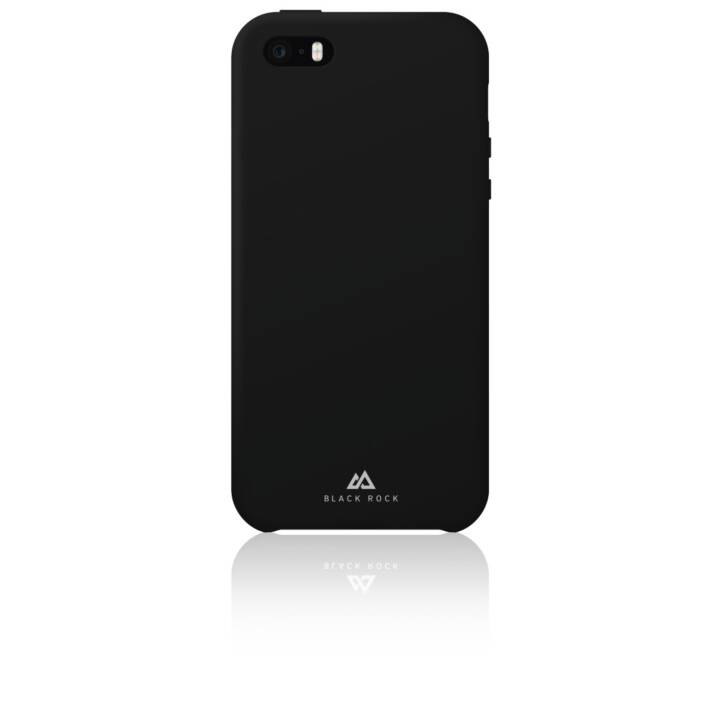 BLACK ROCK Backcover Fitness Case (iPhone 5SE, iPhone 5, iPhone 5S, Schwarz)