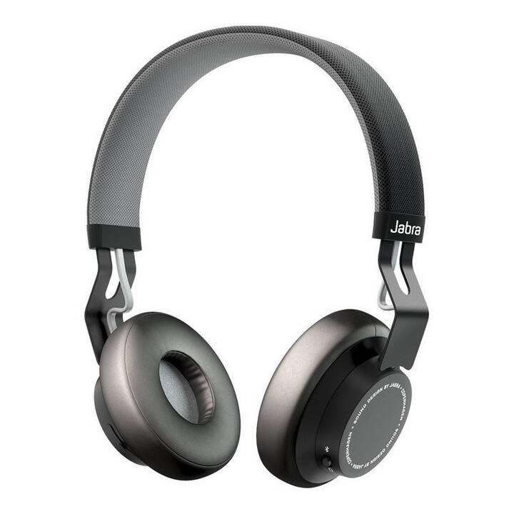 JABRA Move (On-Ear, Bluetooth, Schwarz)