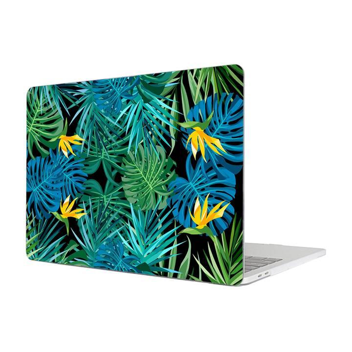 "EG MTT Housse pour Macbook Pro 13"" pas Touchbar (2016 - 2018) - Feuilles"