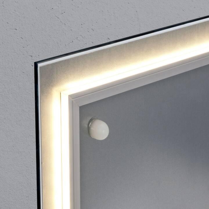 SIGEL Glassboard LED artverum Natural-Wood