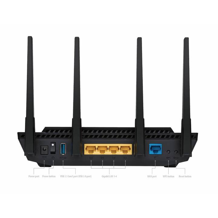 ASUS Dual Band RT-AX58U WiFi 6 Router