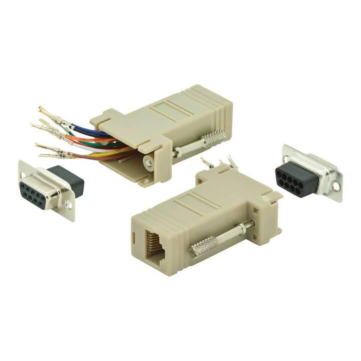 ASSMANN Electronic Adaptateur (RJ-45, 9-pôles, D-Sub, 0 m)