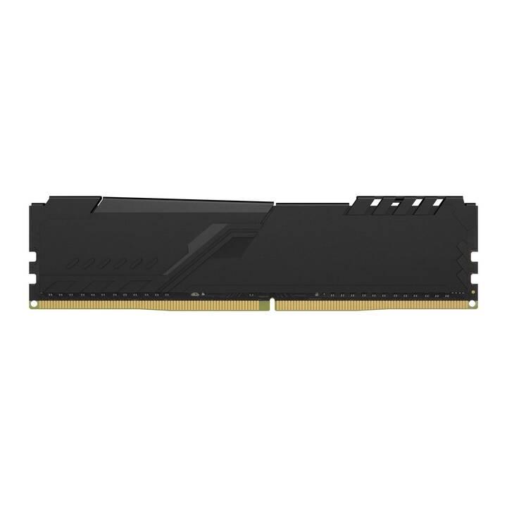 HYPERX FURY (1 x 8 Go, DDR4-SDRAM, DIMM 288-Pin)