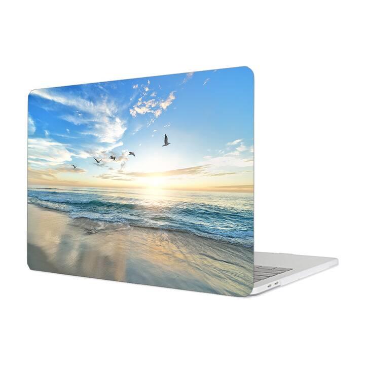 """EG Housse pour Macbook Pro 16"""" Touchbar (2019) - Plage"""