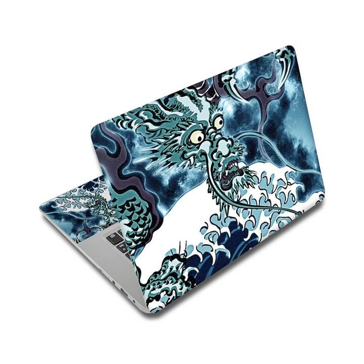 "EG adesivo per laptop 14"" - oceano"