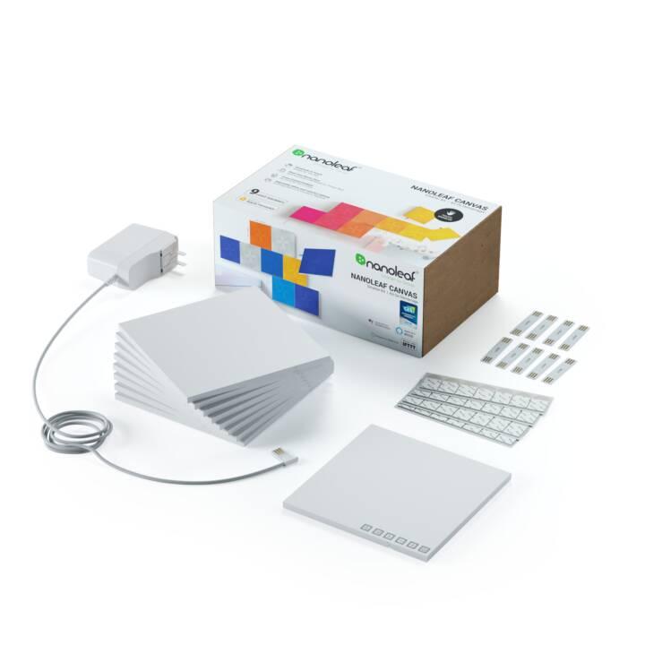 NANOLEAF Luce d'atmosfera LED Canvas Smarter Kit Touch (Multicolore)