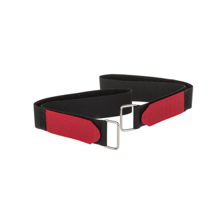 FASTECH Bracelet FAST-VSTRAP Noir Rouge 350 mm x 20 mm