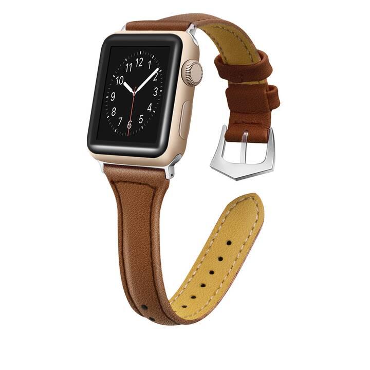 EG MTT cinturino per Apple Watch 38 mm / 40 mm - marrone scuro