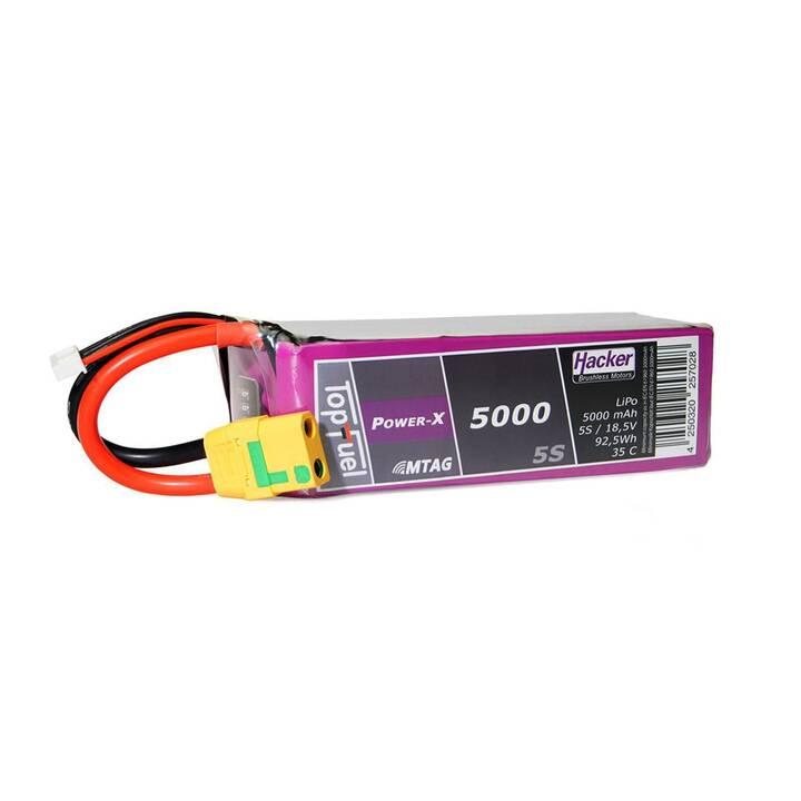 HACKER Accus Topfuel Power-X (LiPo, 5000 mAh, 18.5 V)