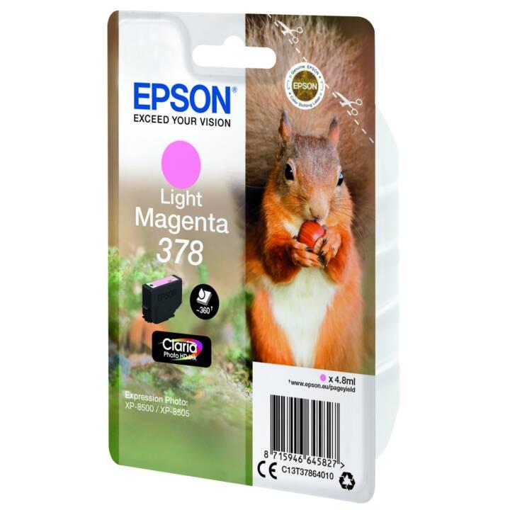 EPSON cartouche simple 378 Light Magenta