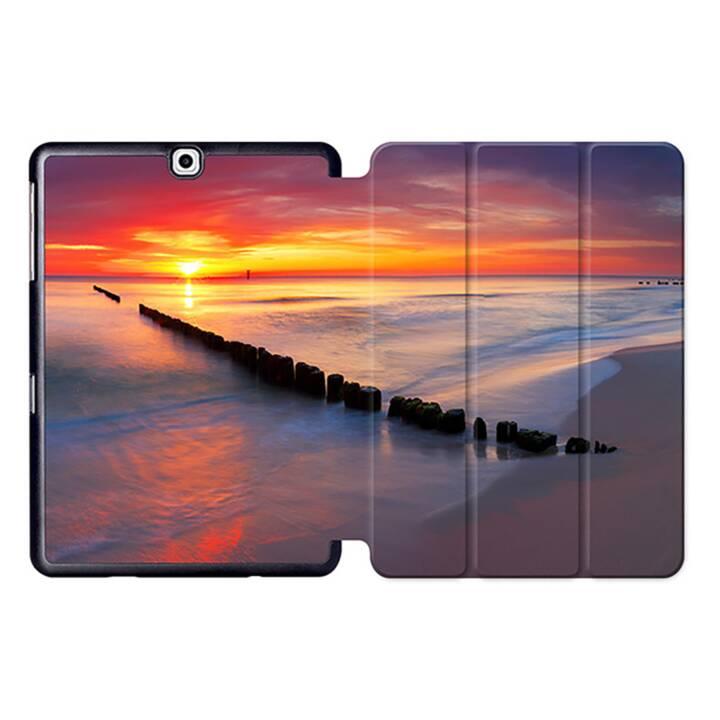 "EG MTT Tablet Bag con coperchio pieghevole Smart per Samsung Galaxy Tab S2 9.7"" MTT - Sky"