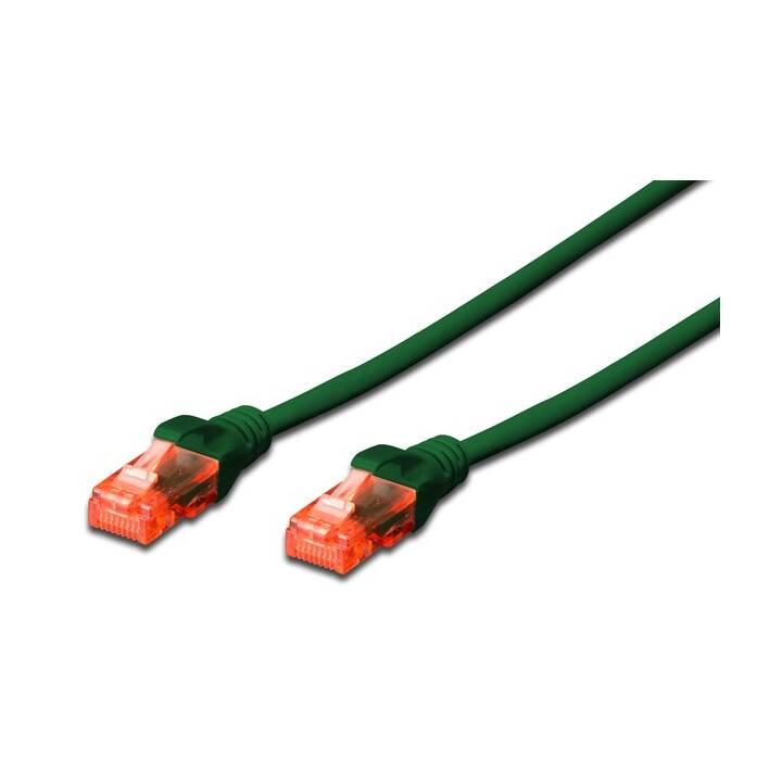 ASSMANN CAT 6 U-UTP Câble réseau (RJ-45, 1 m)