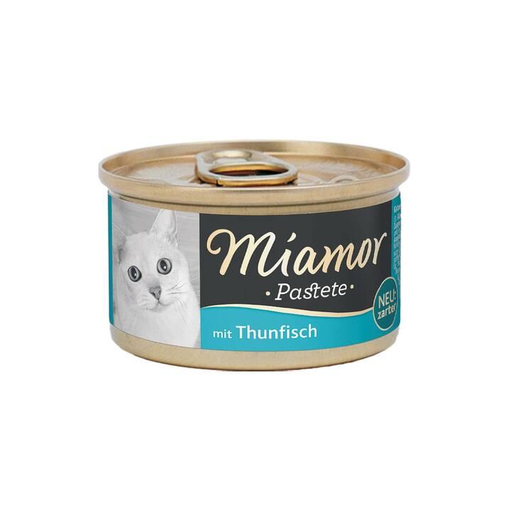 MIAMOR Pastete (Adulto, 85 g, Tonno)