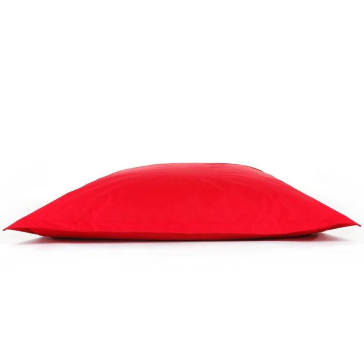 BELIANI Sitzsack Indoor & Outdoor (140 cm x 180 cm, Rot)