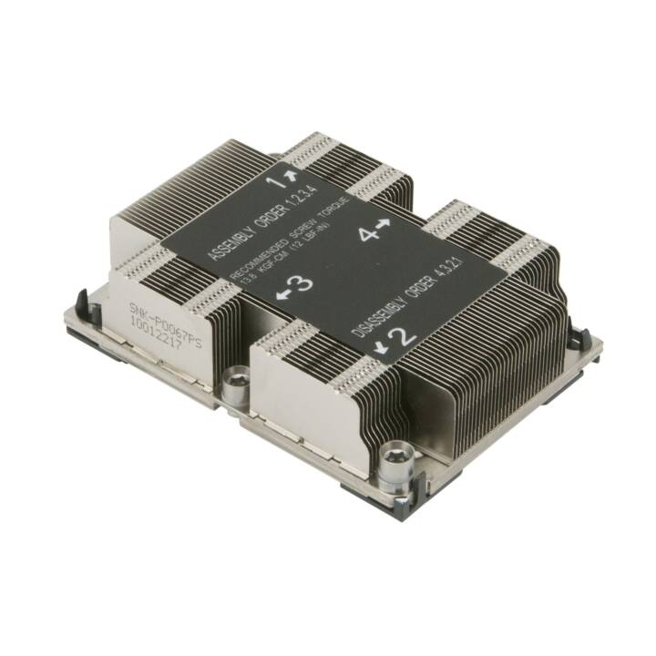SUPERMICRO SNK-P0067PS Prozessor Kühlkörper
