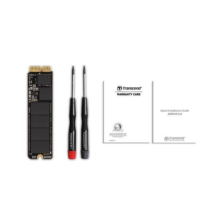 TRANSCEND JetDrive 820 (PCI Express, 480 GB, Schwarz)