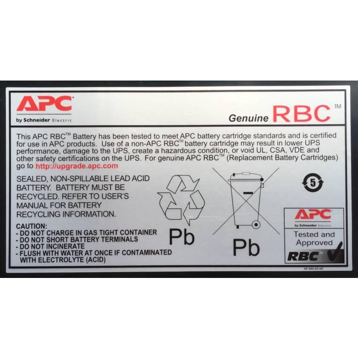 APC APCRBC140 Pila di aggiunta UPS