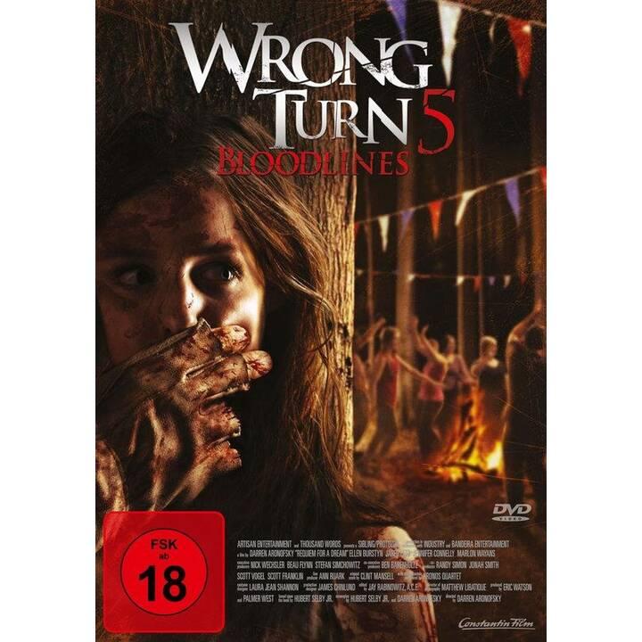 Wrong Turn 5 - Bloodlines (DE, EN)
