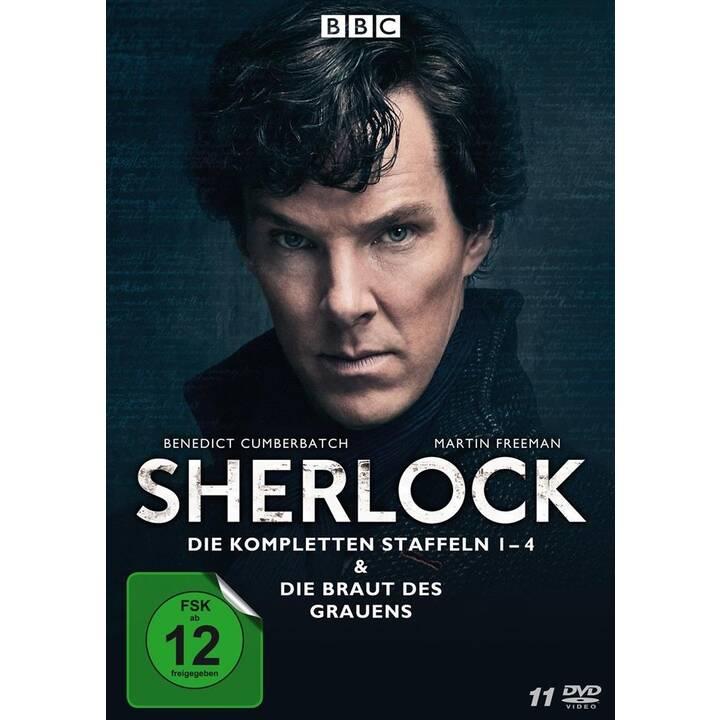 Sherlock - Staffeln 1-4 & Die Braut des Grauens (DE, EN)