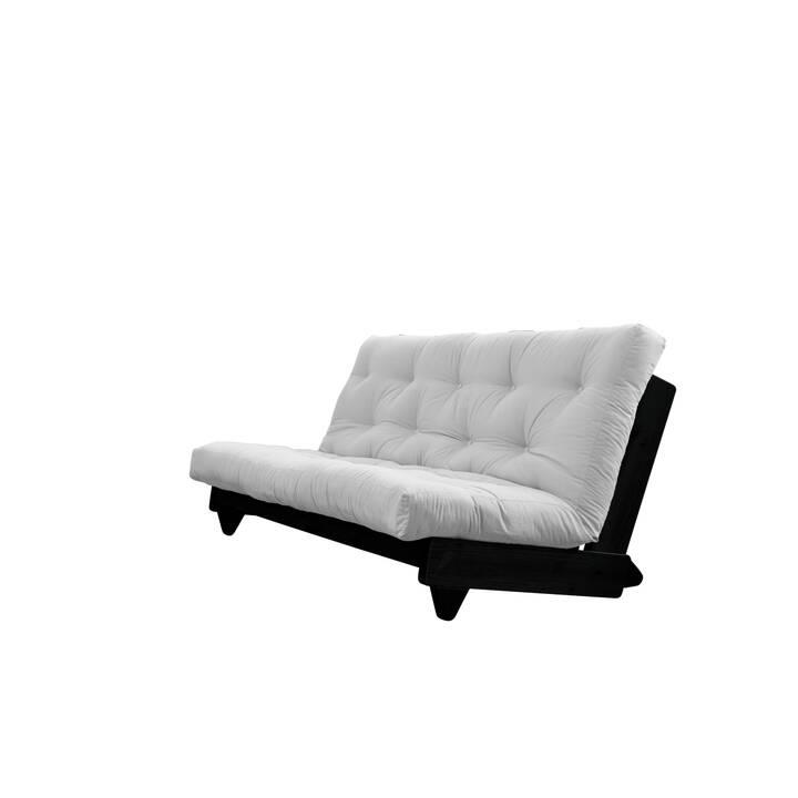 KARUP DESIGN Fresh Divano letto (Cotone, Poliestere, Grigio chiaro, Nero, 200 cm x 100 cm)