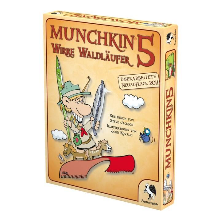 PEGASUS SPIELE Munchkin 5: Wirre Waldläufer (Allemand)