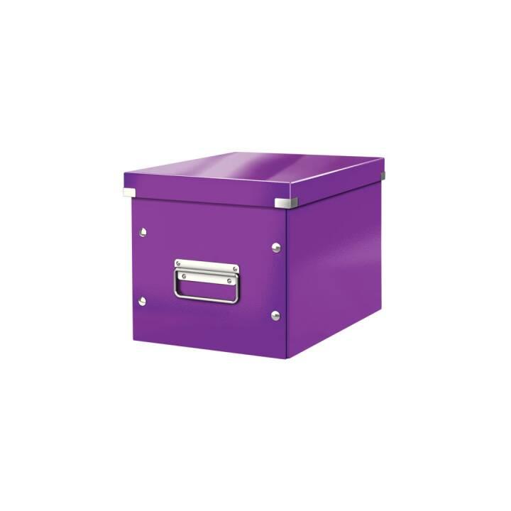 LEITZ Click&Store Cube M 260 x 43 x 260 mm Violet