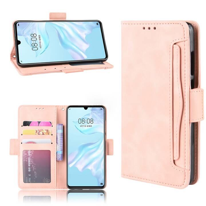 """EG Mornrise Étui Portefeuille pour Samsung Galaxy A11 6.4"""" 2020 - Rose"""