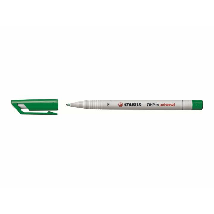 STABILO Evidenziatore OHPen  (Verde, 1 pezzo)