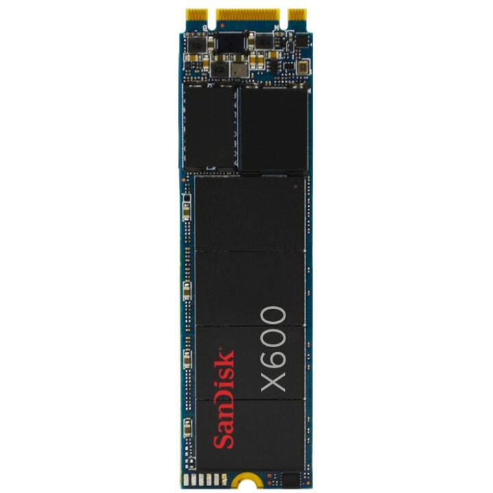 SANDISK X600  (SATA-III, 128 GB, Nero)