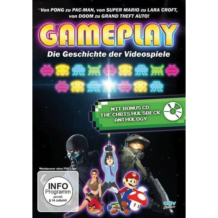 Gameplay - Die Geschichte der Videospiele (EN, DE)