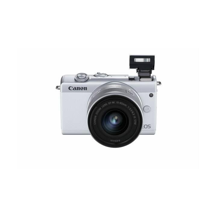 CANON EOS M200 White incl. EF-M 15-45mm Kit (24.1 MP, WLAN)