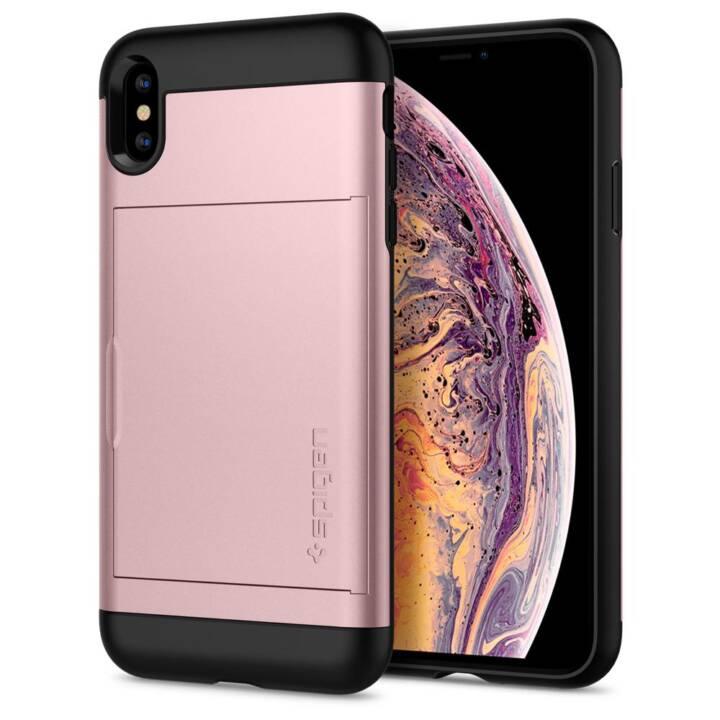 SPIGEN Couverture arrière Slim Armor CS iPhone XS Max
