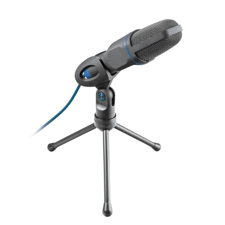 TRUST Mico Tischmikrofon (Schwarz, Blau)