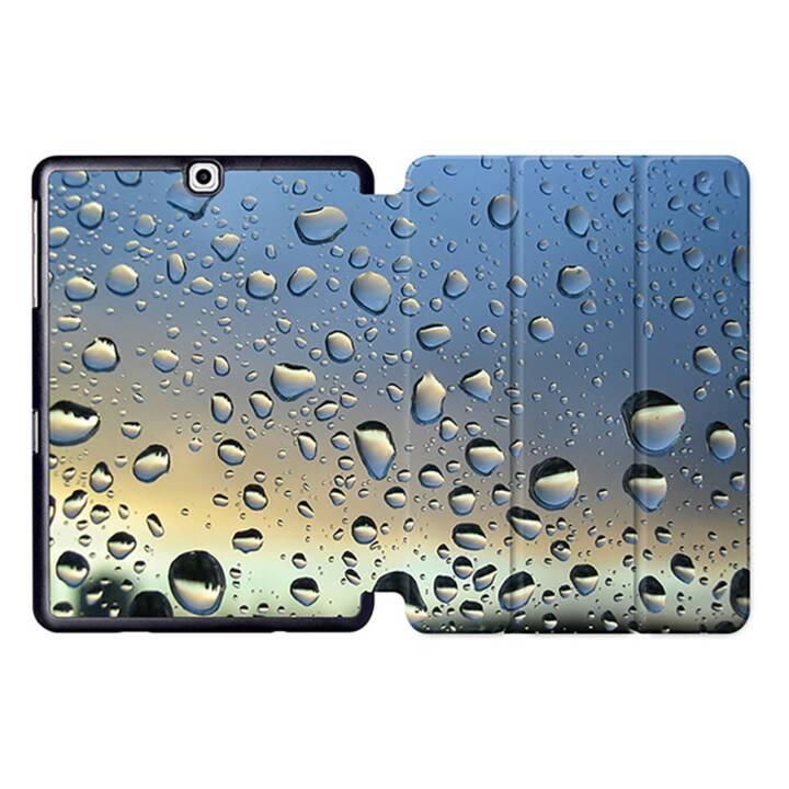 "EG MTT Tablet Bag con coperchio pieghevole Smart per Samsung Galaxy Tab S2 9.7"" MTT - Gocce d'acqua"