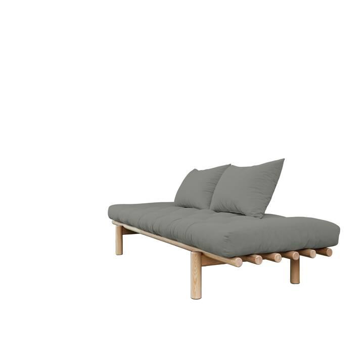 KARUP DESIGN Pace Divano letto (Cotone, Poliestere, Grigio, 200 cm x 75 cm)