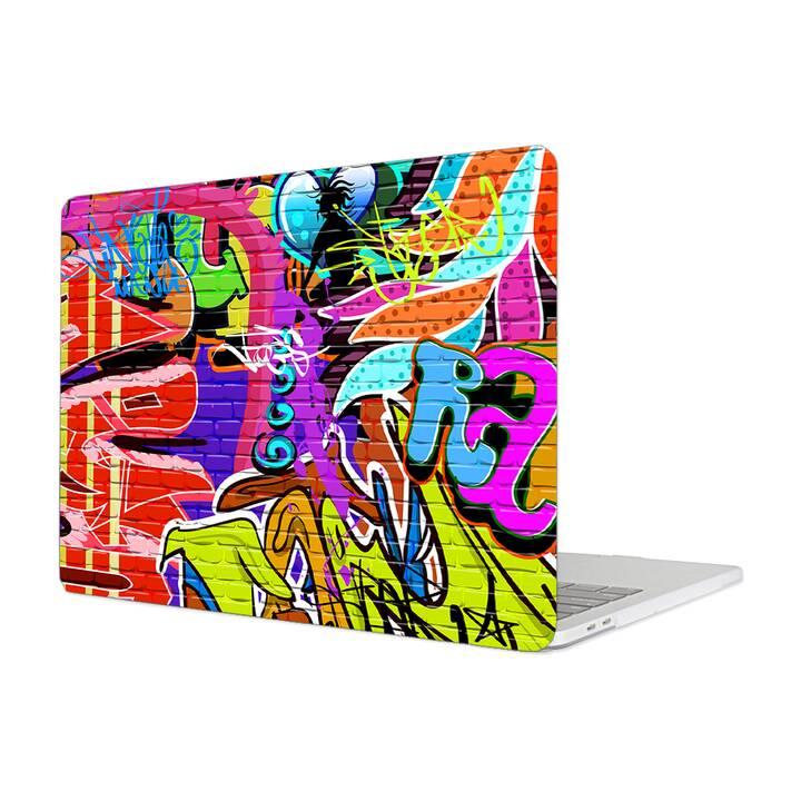 """EG MTT Hülle für Macbook Pro 13"""" Not Touchbar (2016 - 2018) - Graffiti"""