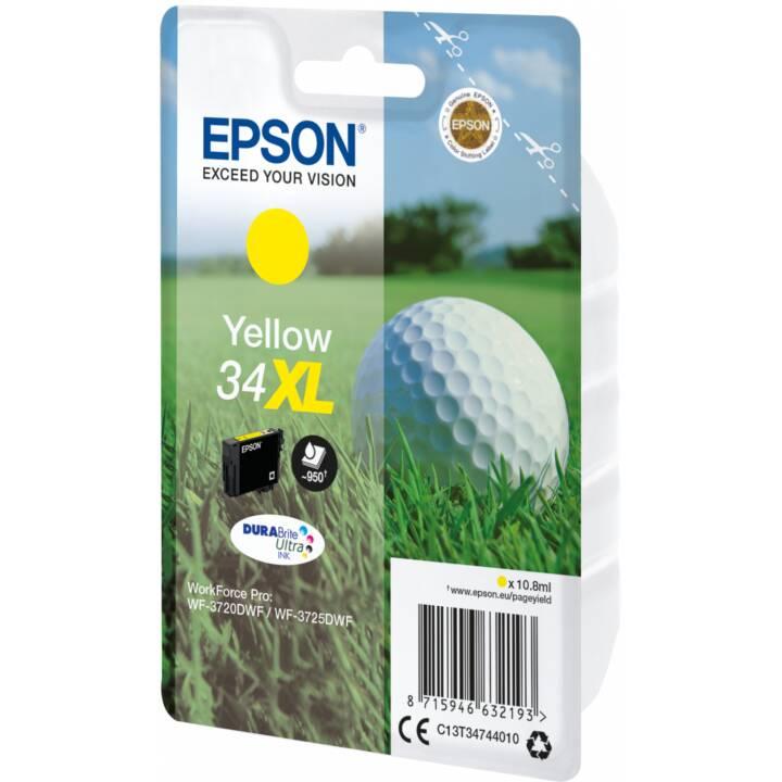 EPSON cartouche simple 34 XL Jaune