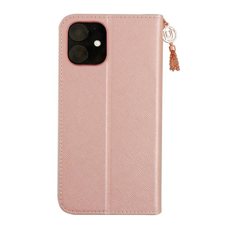 UUNIQUE Flipcover Book-Style (iPhone 11, Pink)